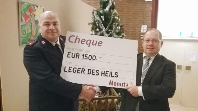 Steun voor overvolle noodopvang Leger des Heils in Kampen
