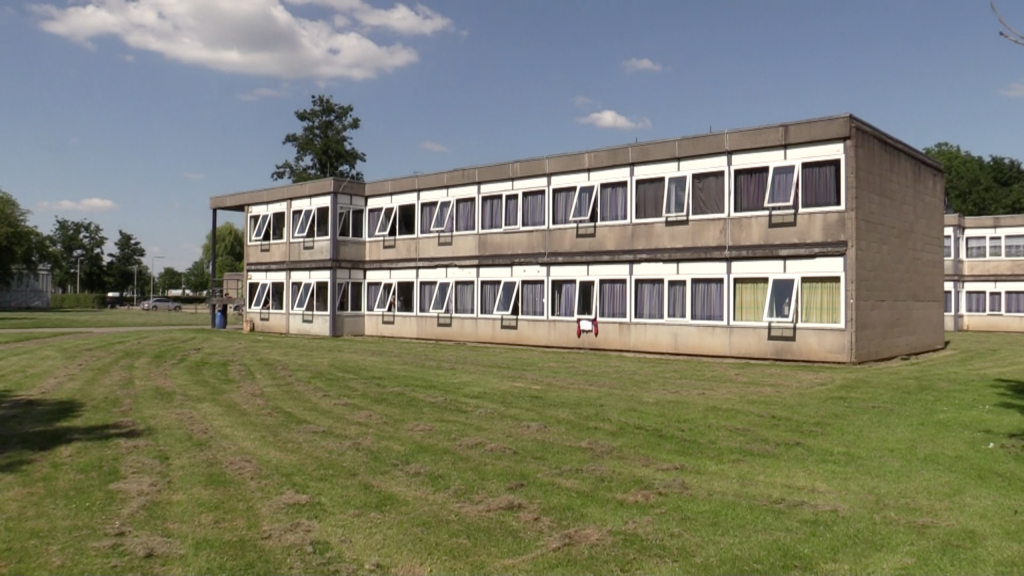 Huisvesting van arbeidsmigranten op de campus in Dronten.