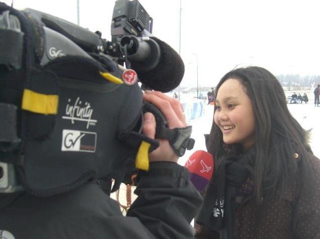 Interview met een studente uit Indonesië.