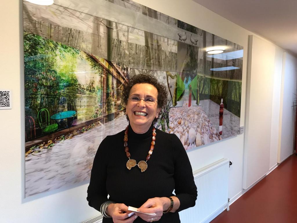 Kunstwerk 'Omheinde tuin' voor Hospice Dronten
