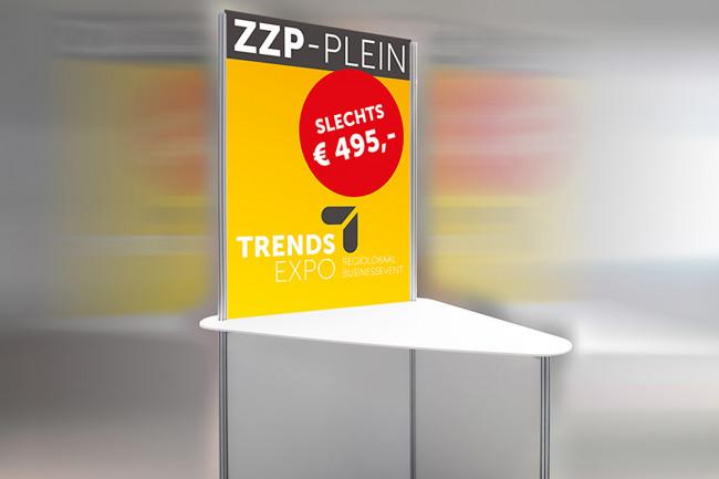 TrendsExpo 2018  heeft speciaal aanbod voor ZZP'er