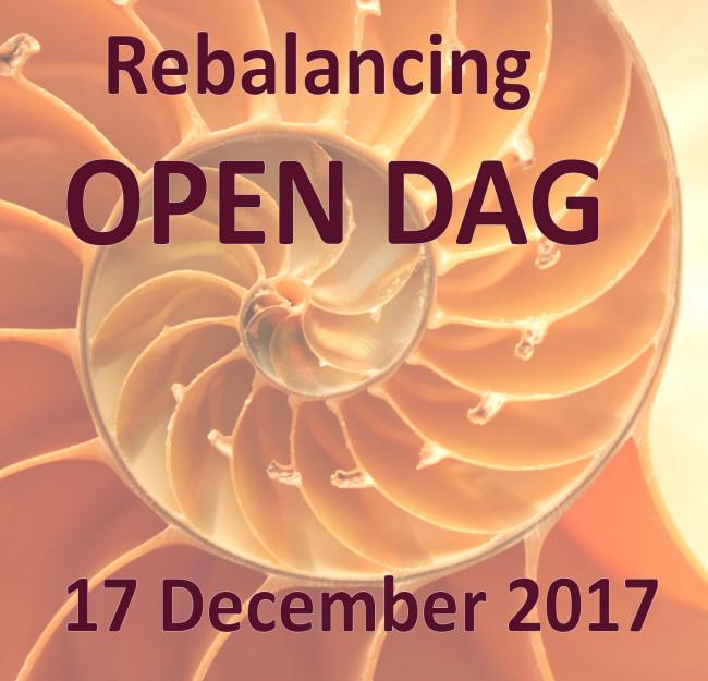 Helmy Helmink houdt Open Dag Rebalancing
