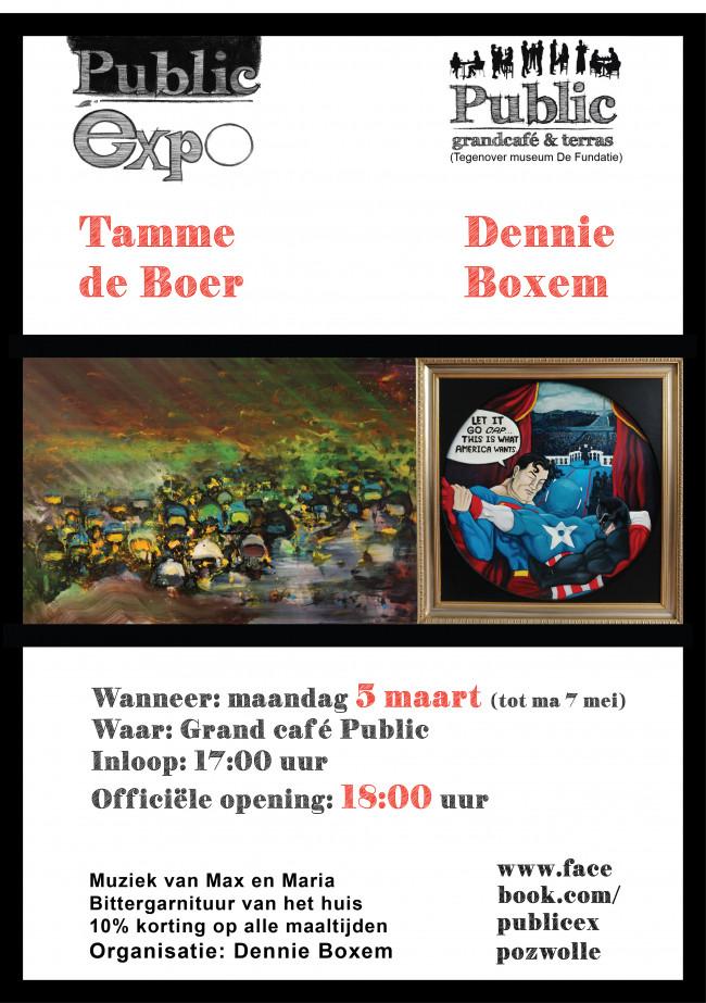 Maatschappijkritiek in 'Public Expo': Tamme de Boer & Dennie Boxem