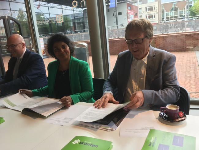 Jaap Oosterveld en Irene Korting worden de nieuwe wethouders in Dronten