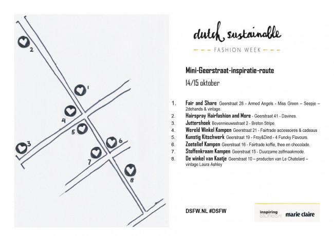Mini-Geerstraat-inspiratie-route voor Dutch Sustainable Fashion Week
