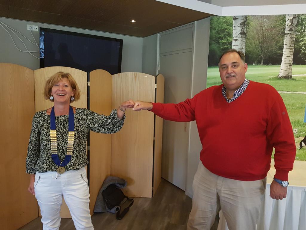 Marlies Grootnibbelink nieuwe voorzitter Rotaryclub Zeewolde