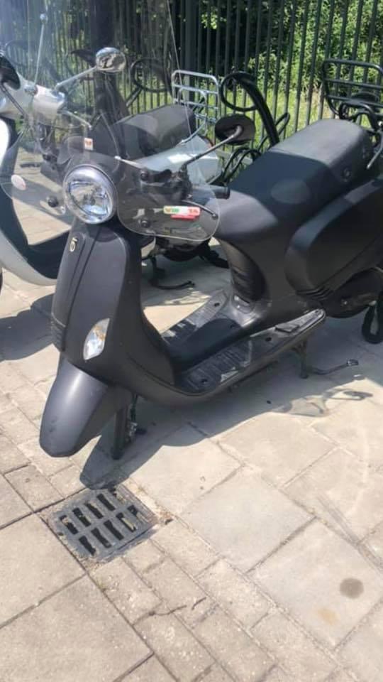 Zo vond de dochter van Paul Hetsen haar scooter terug.