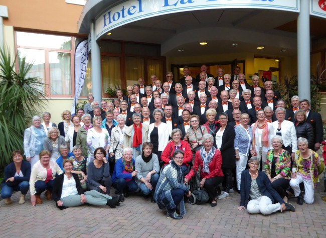 Groot Mannenkoor Zwolle (GMZ) wint brons in Verona