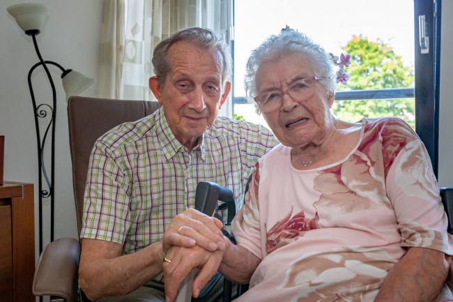 65-Jarig huwelijk Hollander