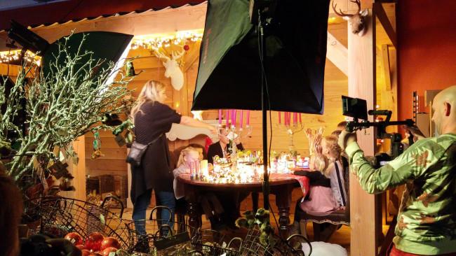 Villa Kakelbont maakt feestelijke kerstcommercial