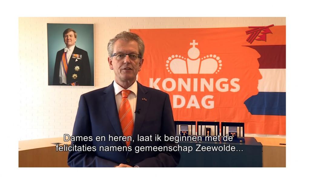 Toespraak burgemeester Gerrit Jan Gorter Koningsdag 2020