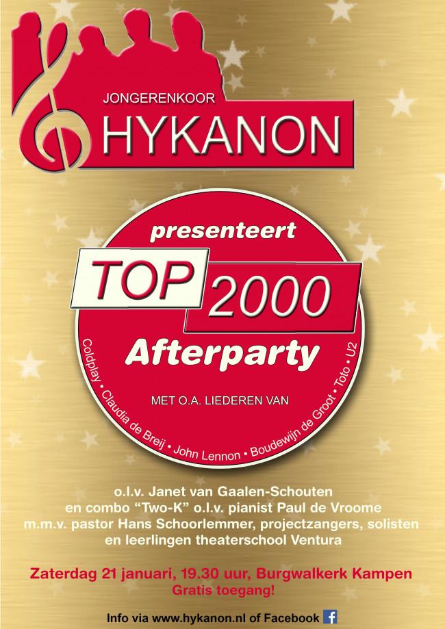HYKANON presenteert.. de TOP 2000 Afterparty