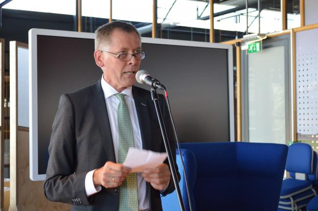 Bibliotheekdirecteur Jan Gommer.