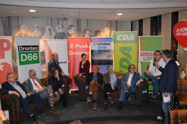 Vorige week gingen de lijsttrekkers met elkaar in debat bij de OVDD.