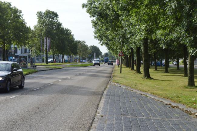 De Noord krijgt tussen het station en het centrum een drie meter brede middenberm.