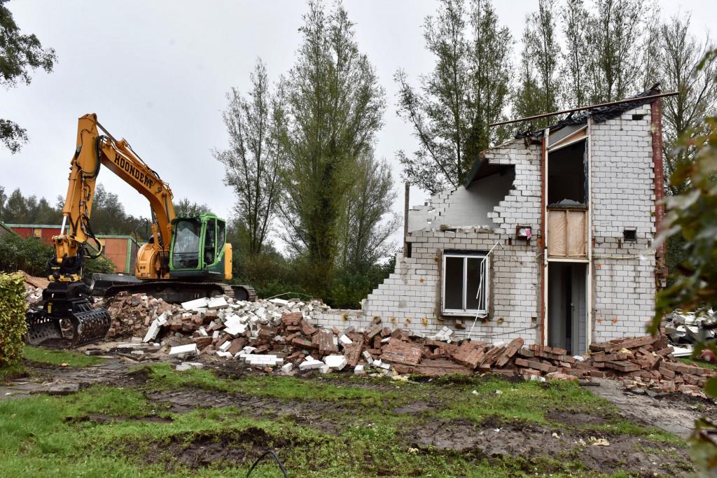 RCN-huisjes van eerste bewoners Zeewolde afgebroken