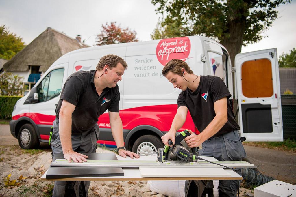 Hoornbeeck & DB Keukengroep presenteren nieuwe opleiding: Allround Keukenmonteur