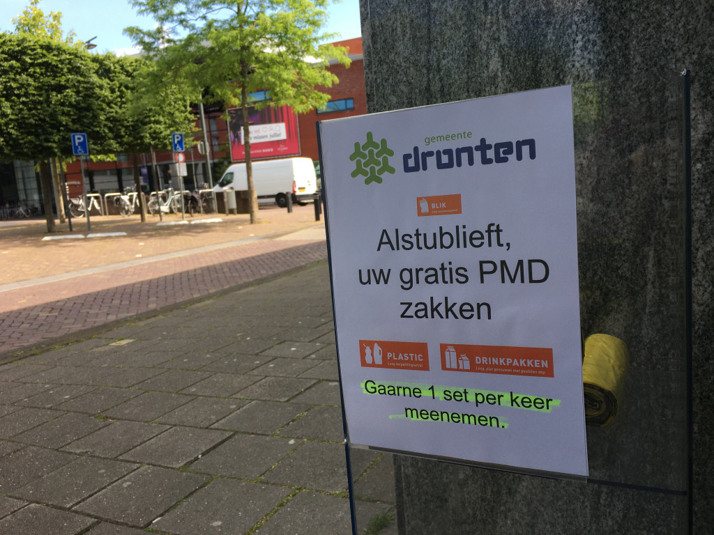 Lagere opbrengst PMD.