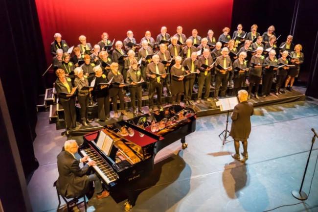 The Second Voices verzorgt jaarlijks voorjaarsconcert