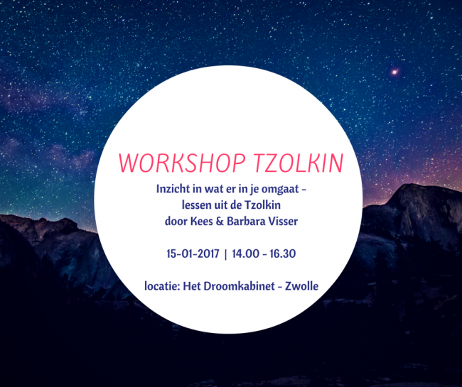 Workshop over de Tzolkin (Mayakalender)