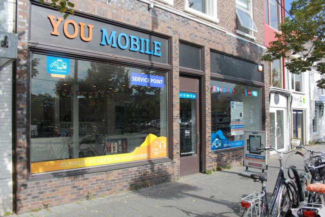 You-Mobile: voor mobiele telefoons en accessoires