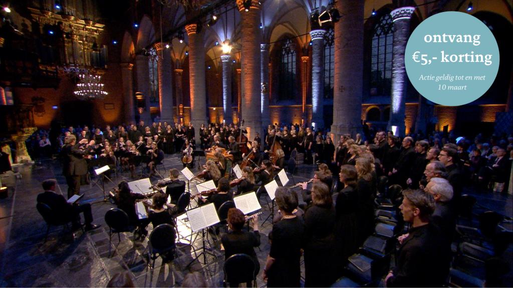 Kom naar Ars Musica's Matthäus Passion!