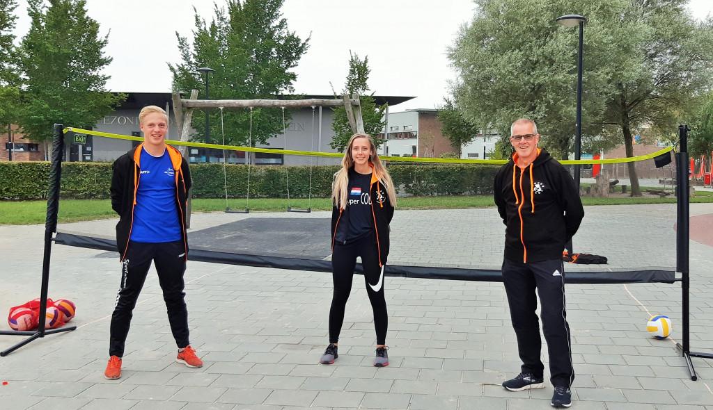 Joppe Ketting, Helien van den Broek en Rene Langeslag.