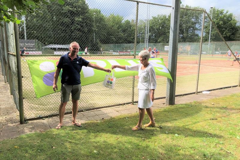 Succesvol verlopen Plus van den Hoven tennistoernooi HLTC