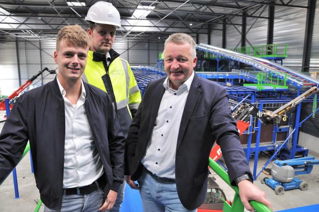 Een uitdagende baan in Nederlands grootste sorteerinstallatie van verpakkingsmateriaal