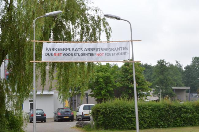 Huisvesting voor arbeidsmigranten aan De Drieslag.