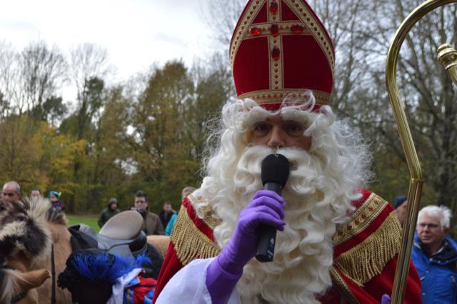 Sinterklaas in Swifterbant.