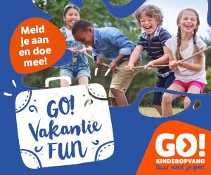 Vakantie FUN bij GO! voor alle basisschoolkinderen