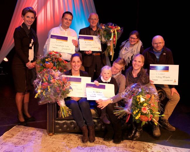 Rabobank IJsseldelta maakt vijf organisaties blij