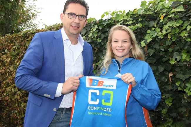 Confinced sponsor van Tess Boekema van BB-lopers