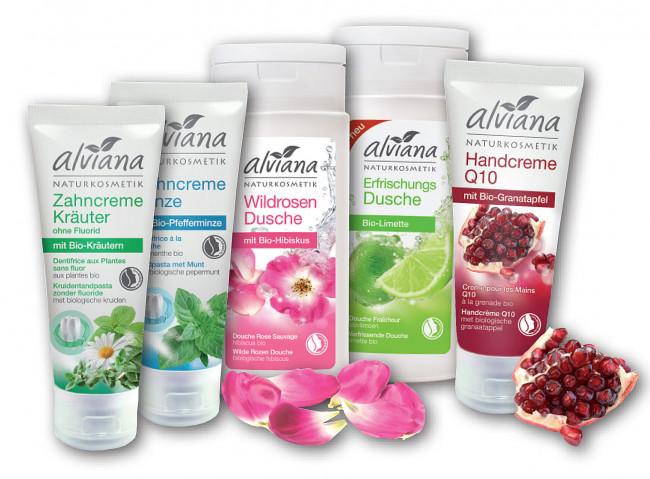 Nu gratis Alviana producten bij de G&W GezondheidsWinkel