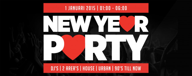 New Year Party in de Music Club Kampen