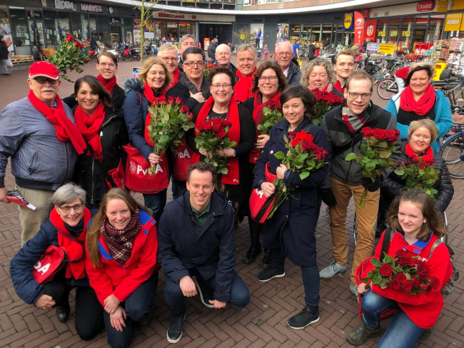 Resultaten bezoek PvdA Holtenbroek