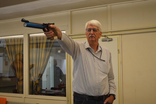 Voorzitter Jim van der Linden