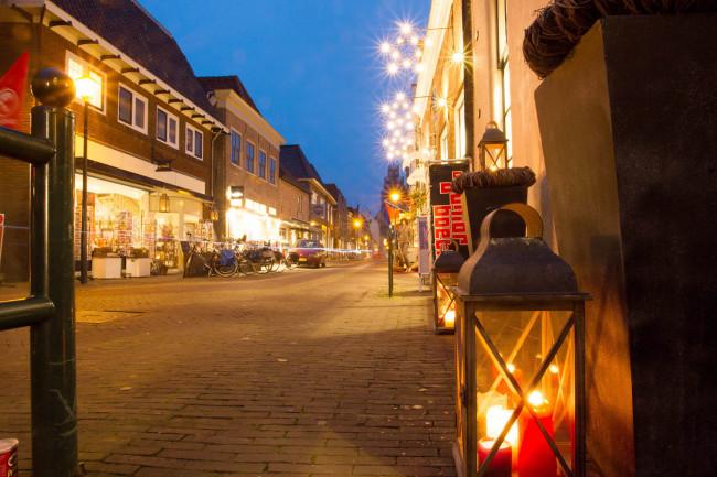Sfeervol winkelen bij kaarslicht in Hattem