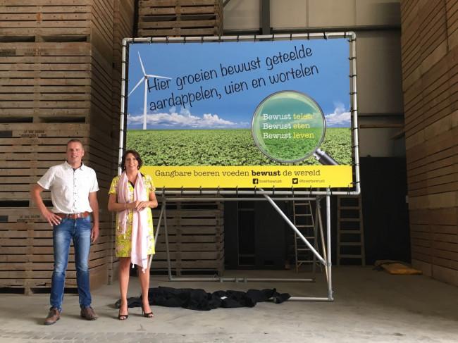 Boer Bewust vindt met promotie 'gangbare' landbouw gehoor bij gemeente Dronten