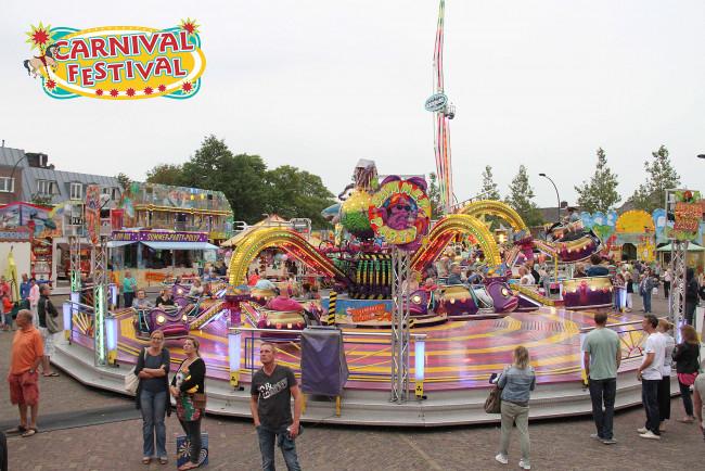 De Voorjaarskermis op de Turfmarkt wordt 'Carnival Festival'