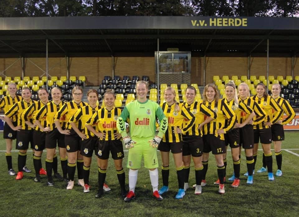 VV Heerde Dames 1 is op zoek naar versterkingen