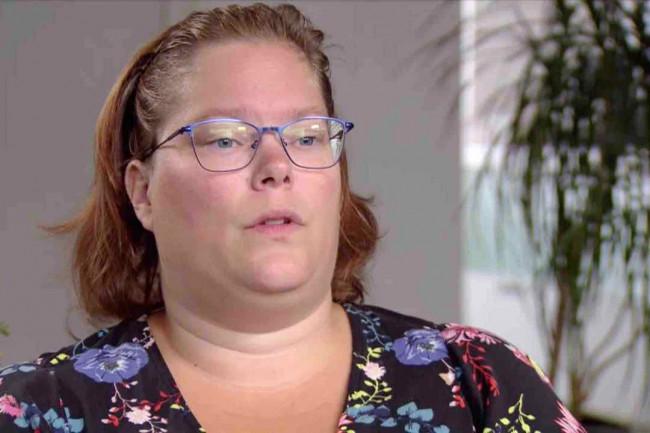 Joyce Eijk in het tv-programma Kassa.