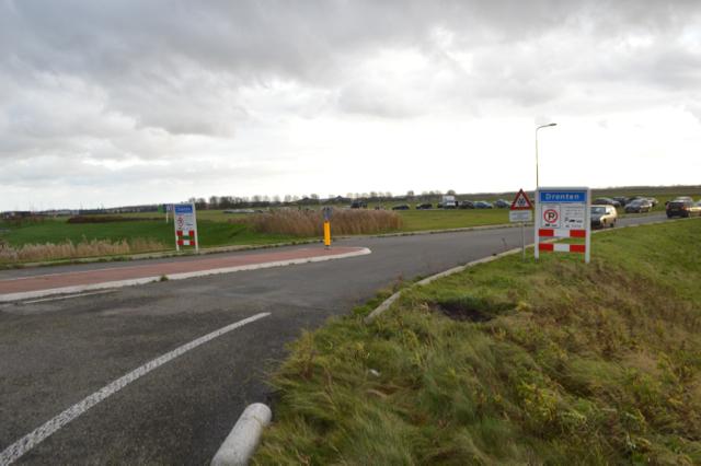 De betonblokken zijn weggehaald bij de rotonde Overijsselseweg/Dronterringweg (N307).