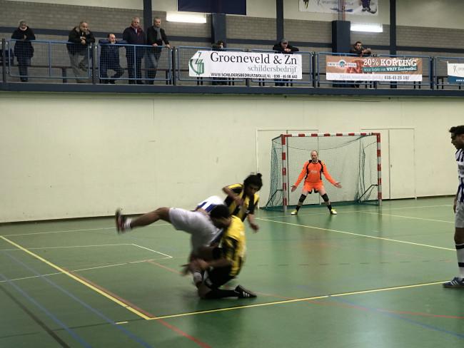 Flitsende start IJsselcup 2016 in WRZV hallen