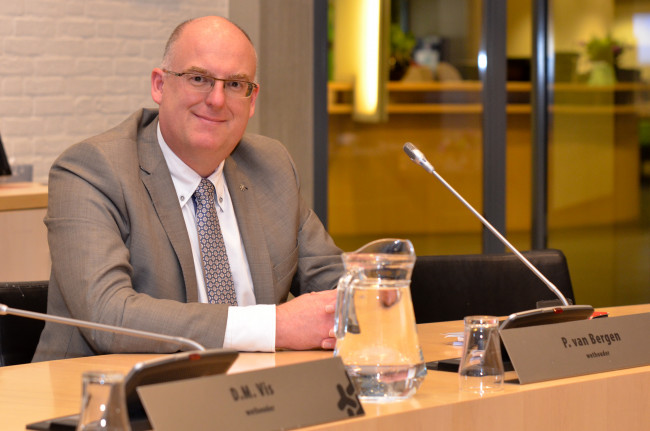 Wethouder Peter van Bergen (Leefbaar Dronten)