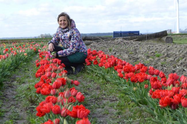 Hanneke Monsma: Tulpenroute is gewoon een 'gouden dingetje'