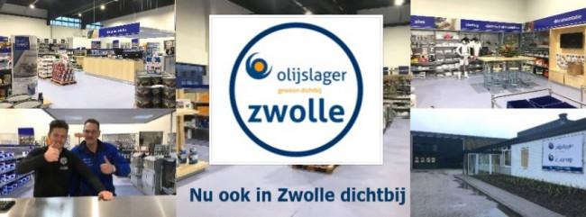 Olijslager Verf nu ook in Zwolle dichtbij!