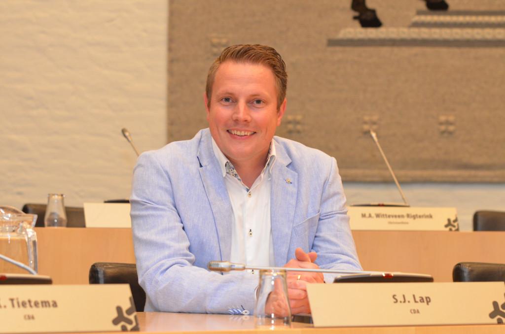 Siert Jan Lap (fractievoorzitter CDA)