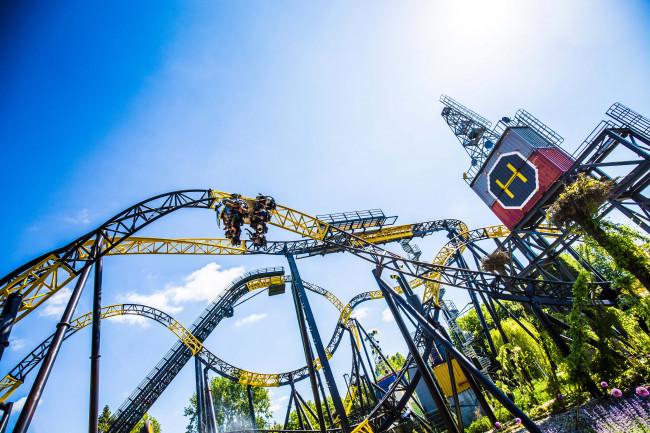 De achtbaan Lost Gravity